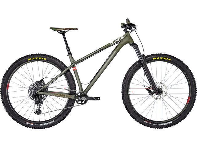 "NS Bikes Eccentric Alu 29"" Raw/Army Green"